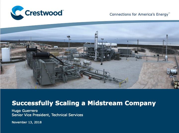 Crestwood Scaling a Midstream Company