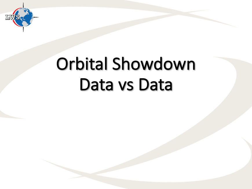 Orbital Showdown Bradley LW Survey Data