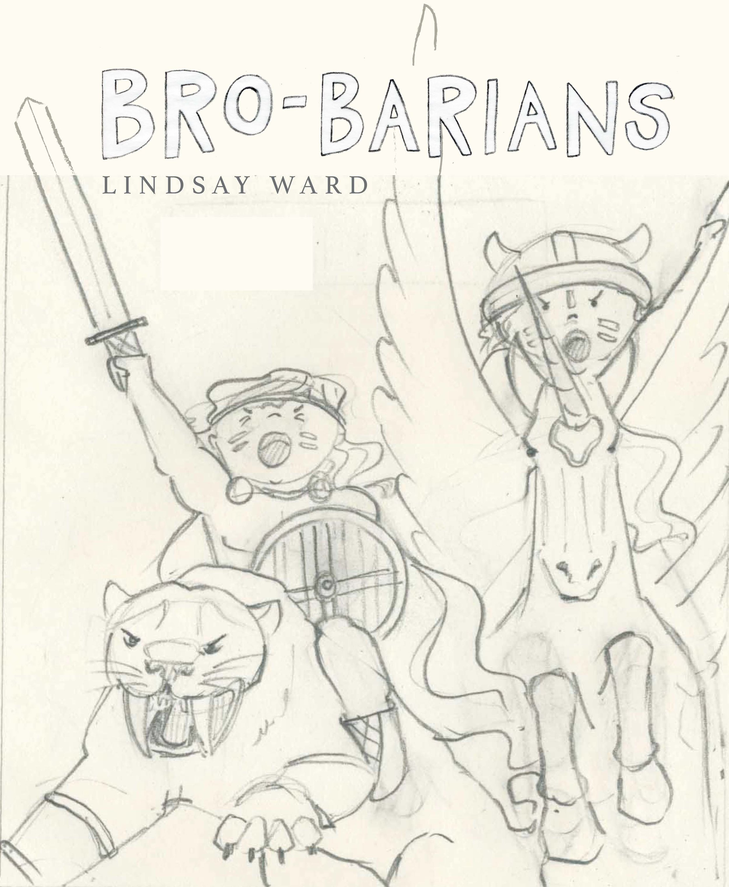 Brobarians  Cover Sketch 1