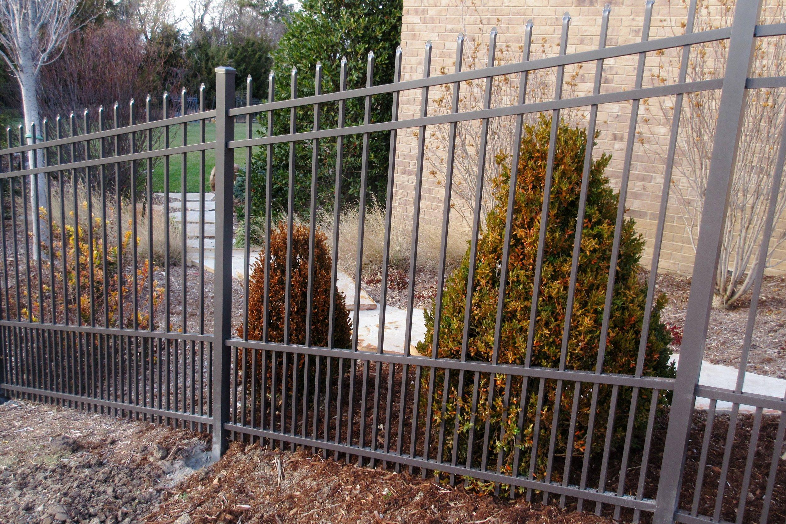 Residential-Ornamental-Fences-Wichita-Kansas