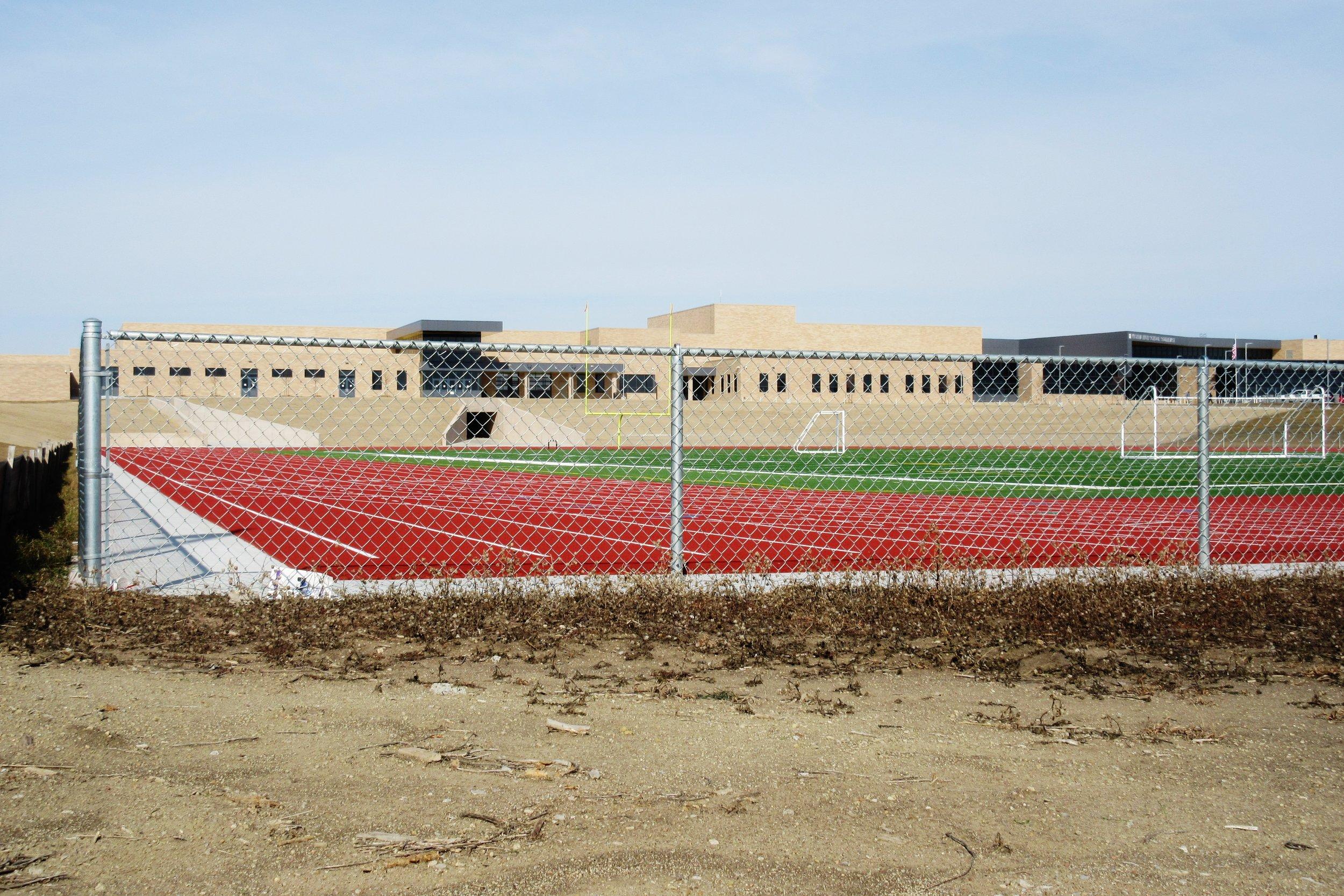 Industrial-galvanized-steel-chain-link-fencing-Wichita-KS-Southeast-High-School-USD259-67210