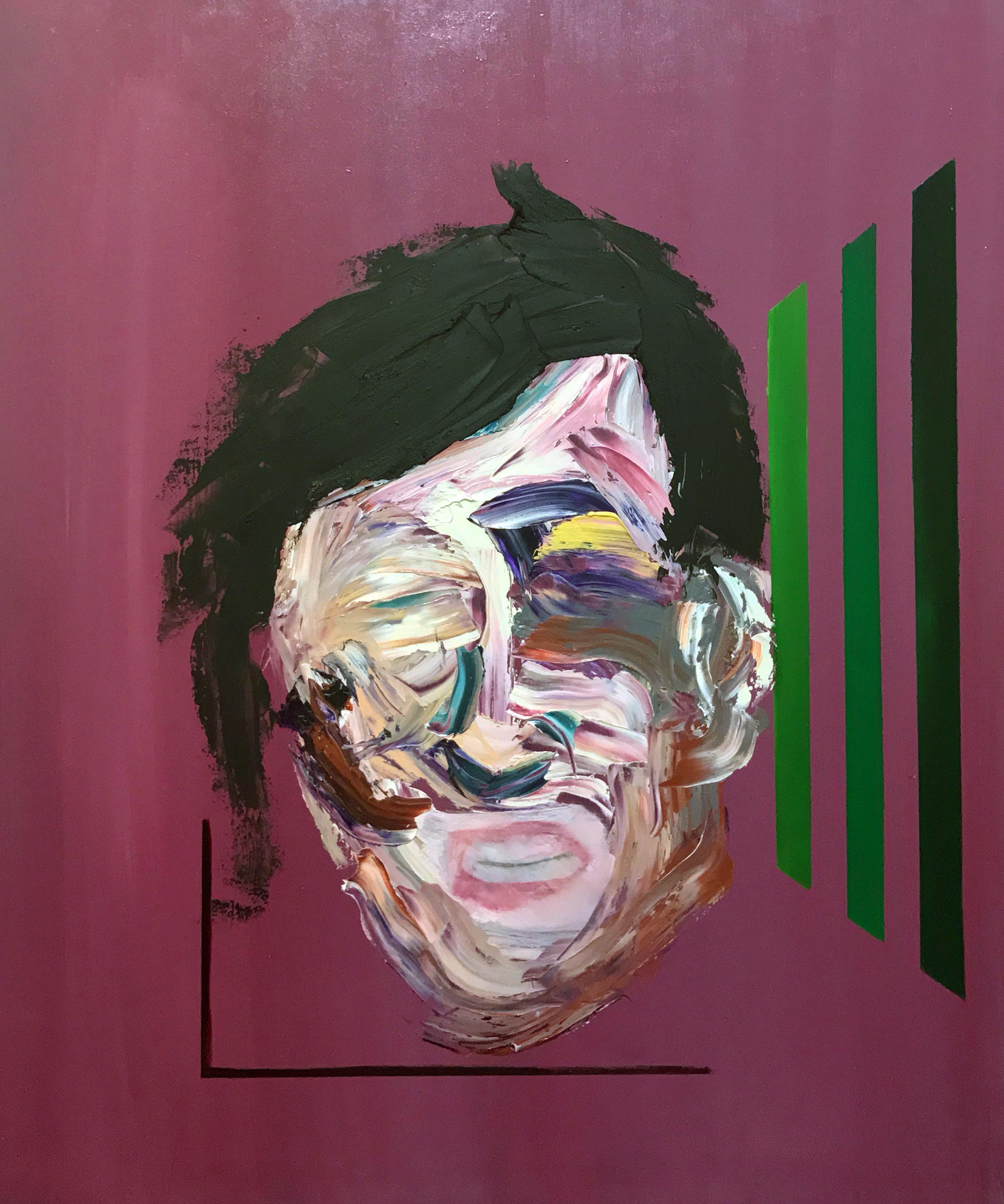 Deconstructed Self Portrait.