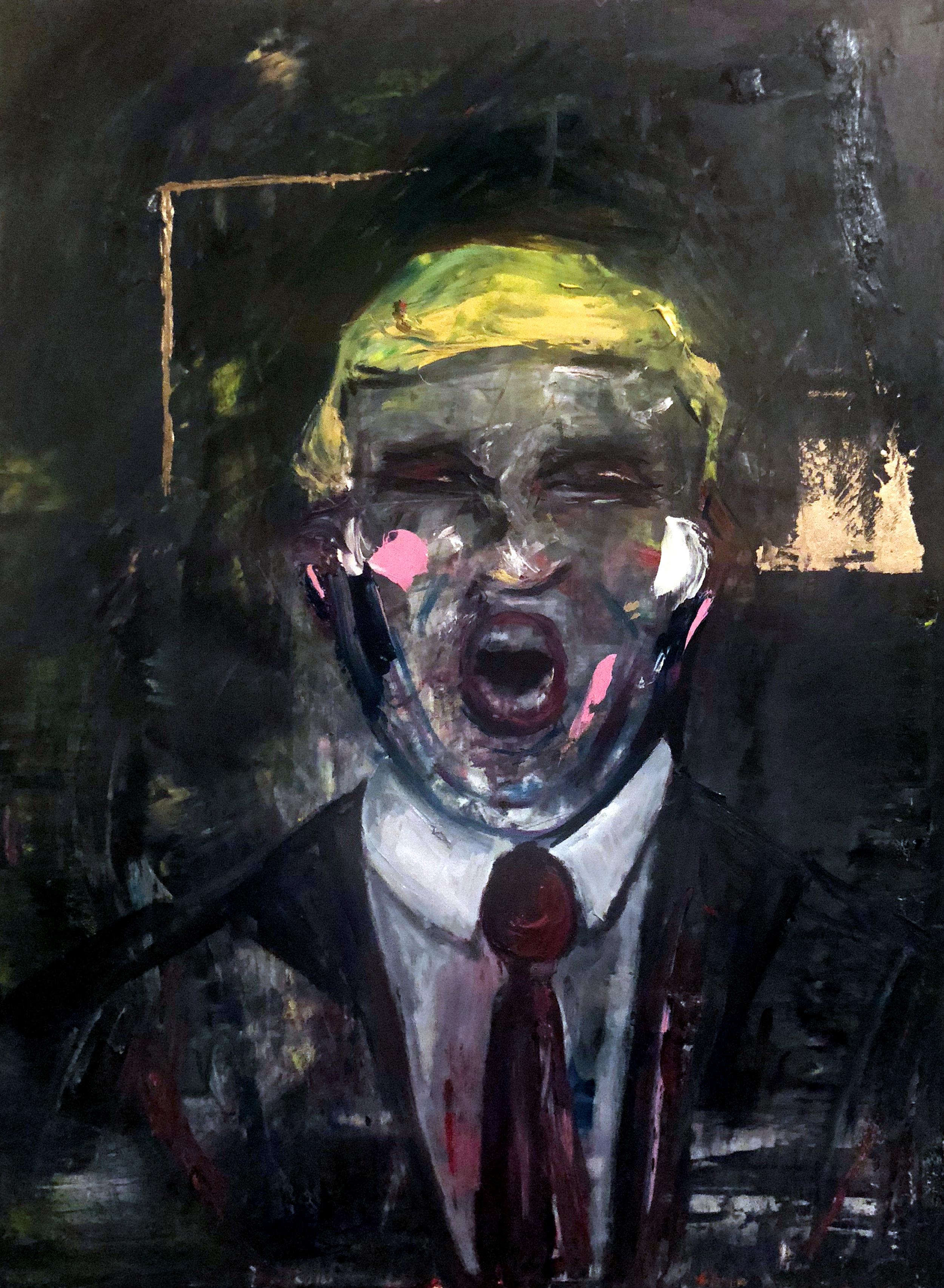 Deconstructed Portrait of Trump