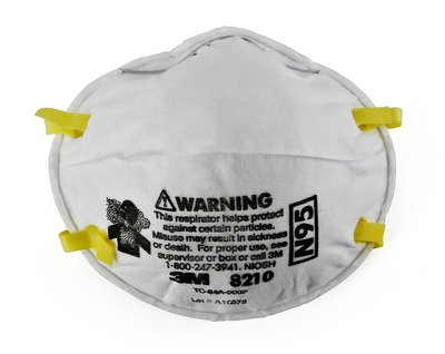 3M 8210 N95 Respirator -