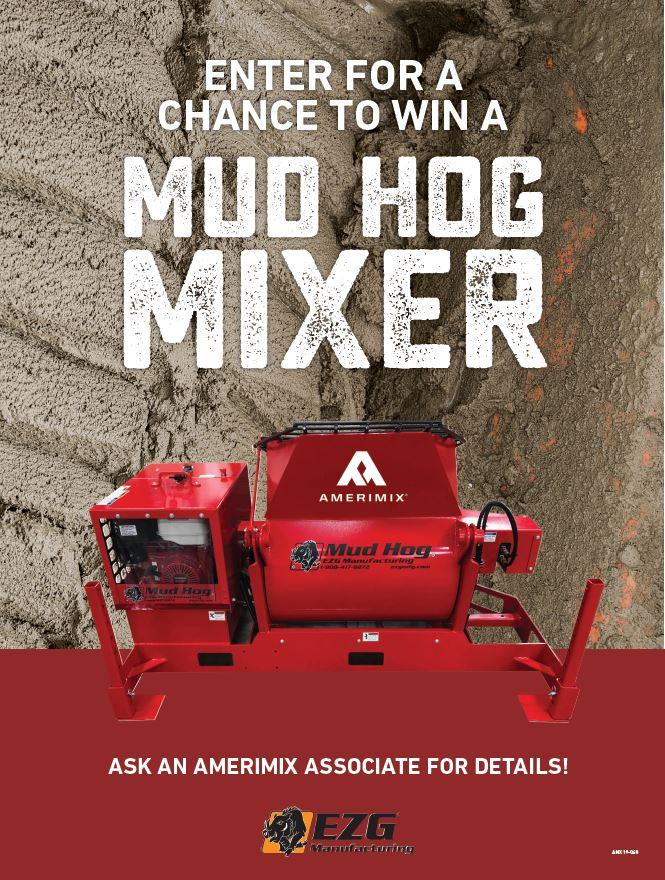 Mud Hog Mixer MH12 Give Away 2019