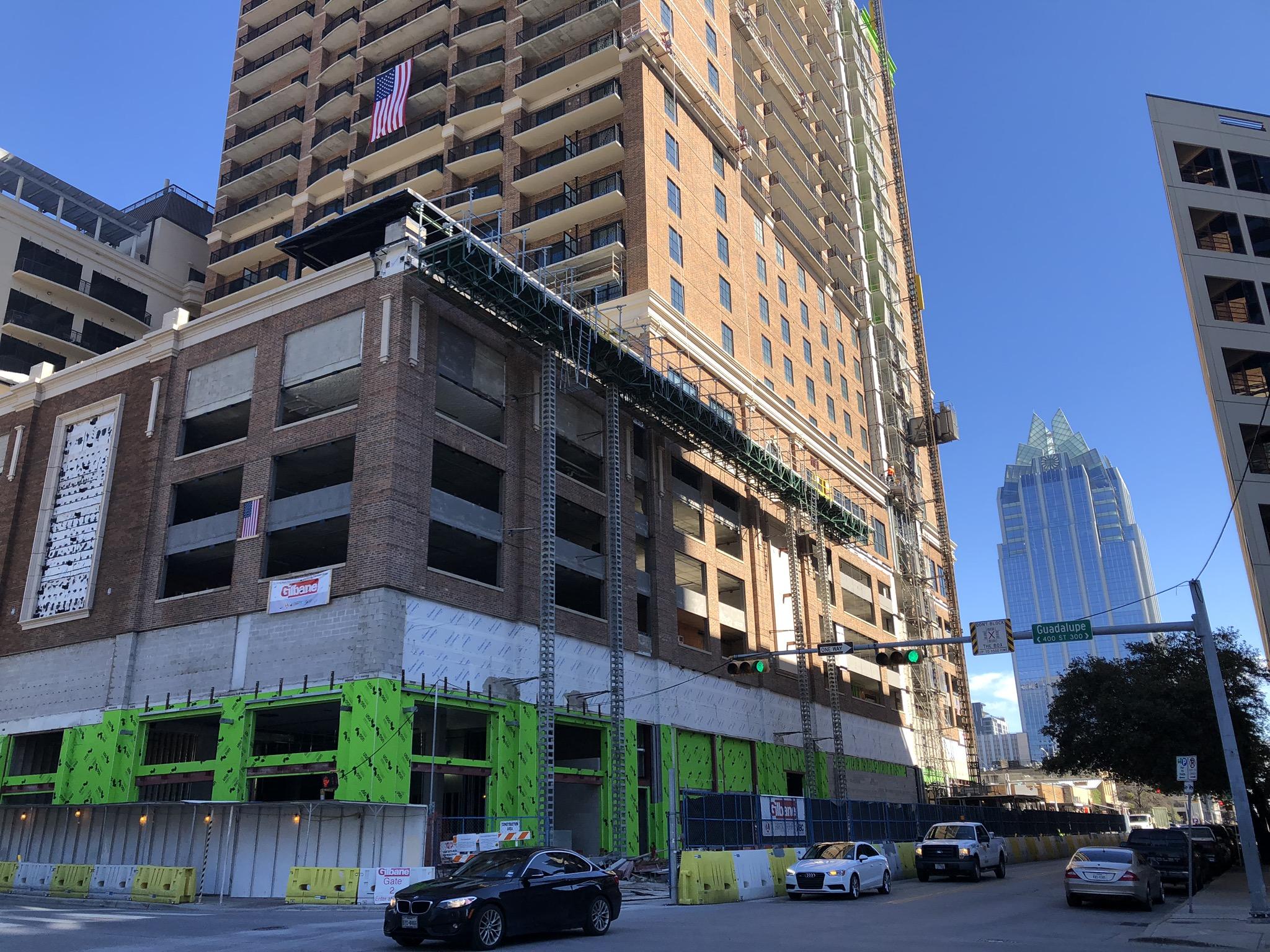 Hydro Mobile Mast Climbers Republic Square Austin Texas