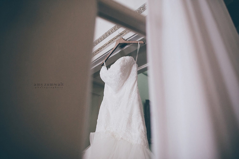 Dallas Scottish Rite Library and Museum wedding bride's wedding dress
