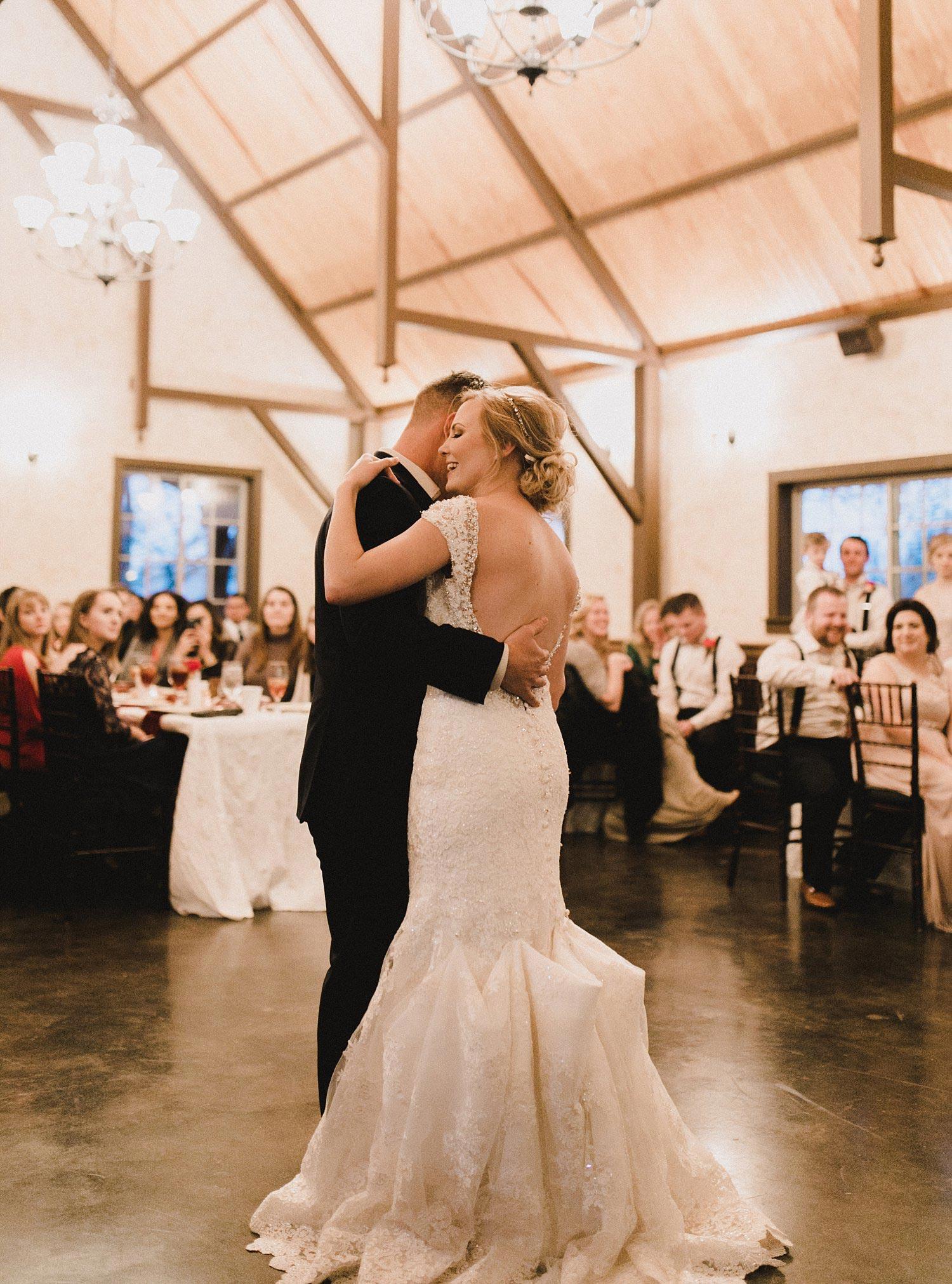 Hollow Hill Farm Event Center Wedding great room first dance