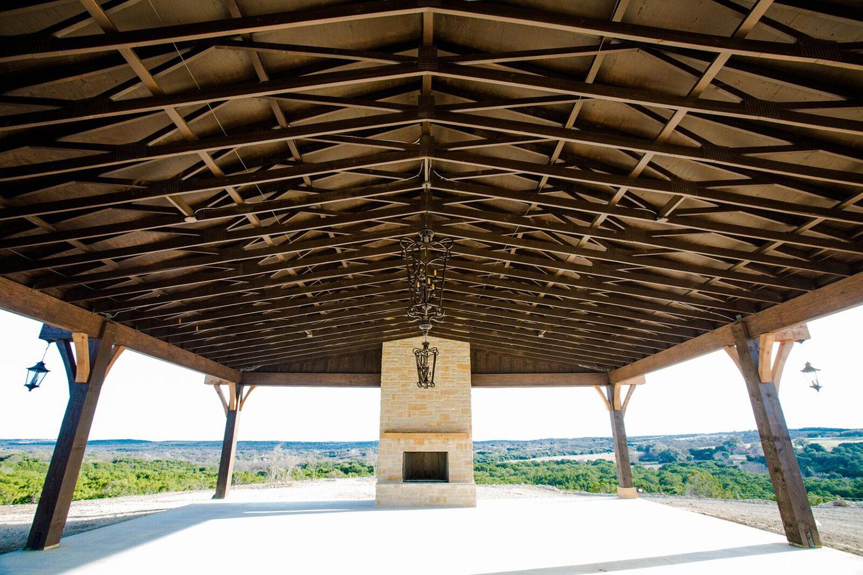 Dove Ridge Vineyard ceremony pavilion