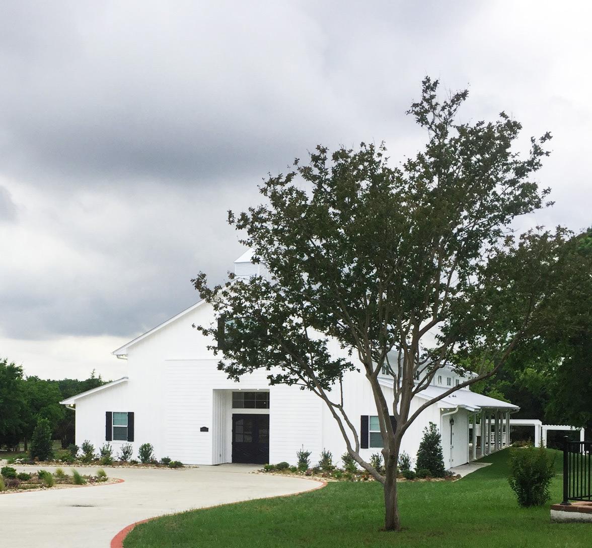 Firefly Gardens event hall exterior