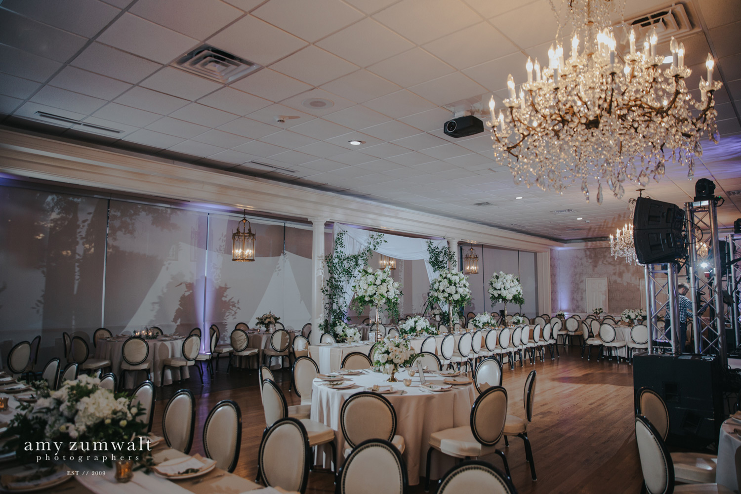 Willow Brook Country Club wedding reception