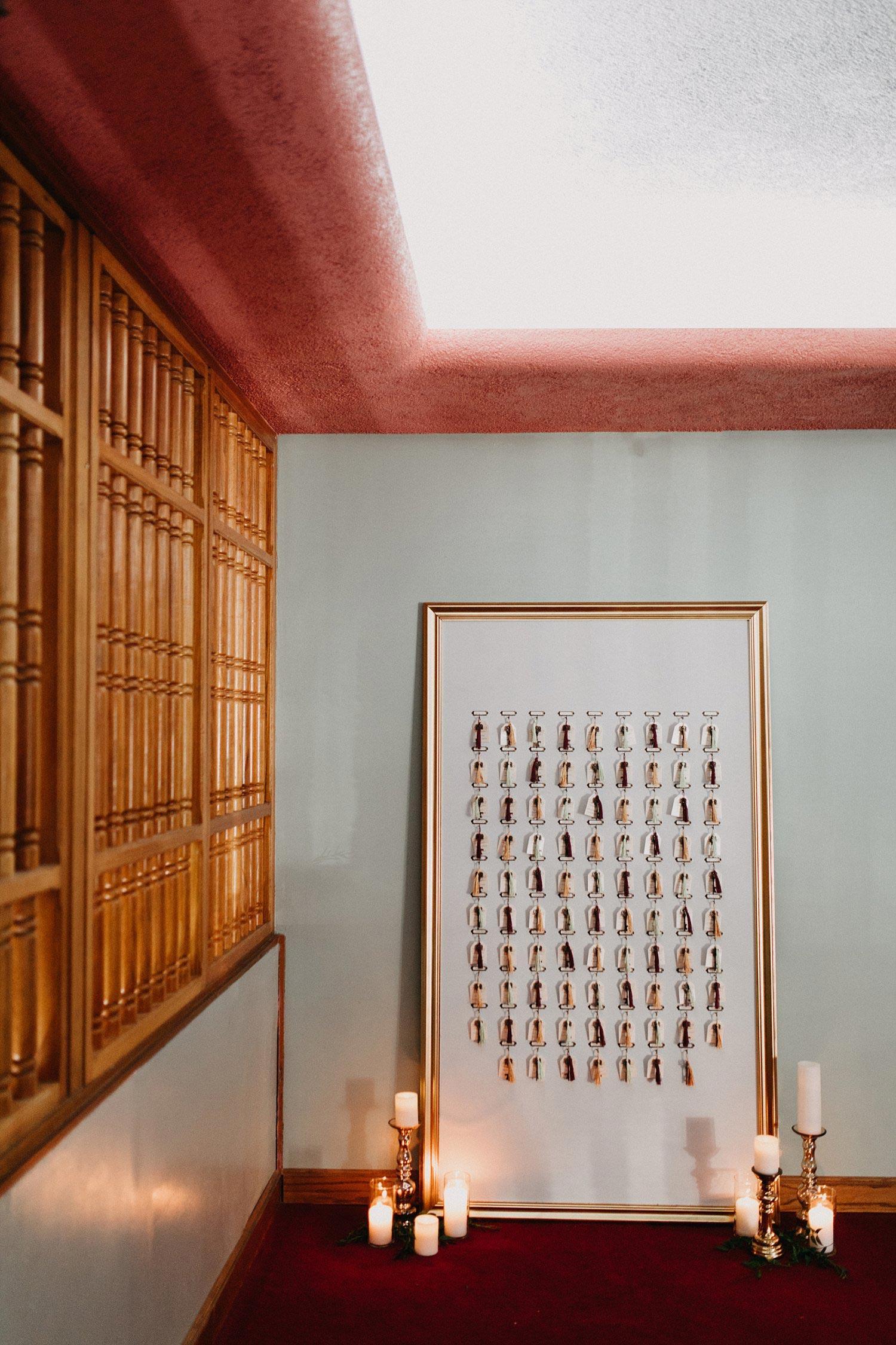 Room key seating chart