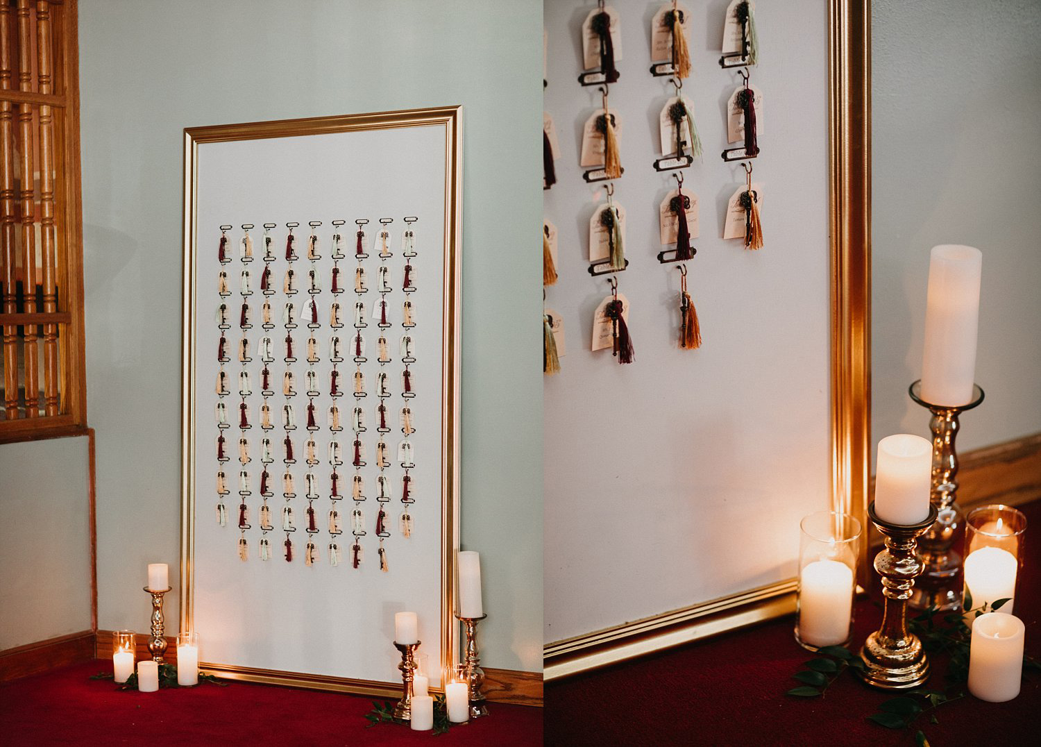 Wes Anderson wedding seating chart