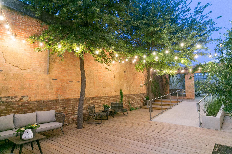 4 eleven outdoor courtyard