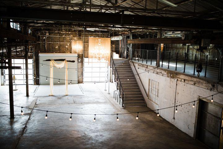 industrial downtown wedding venue