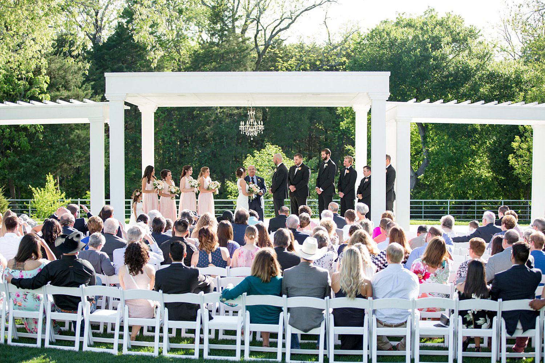 Firefly Gardens ceremony in Midlothian TX