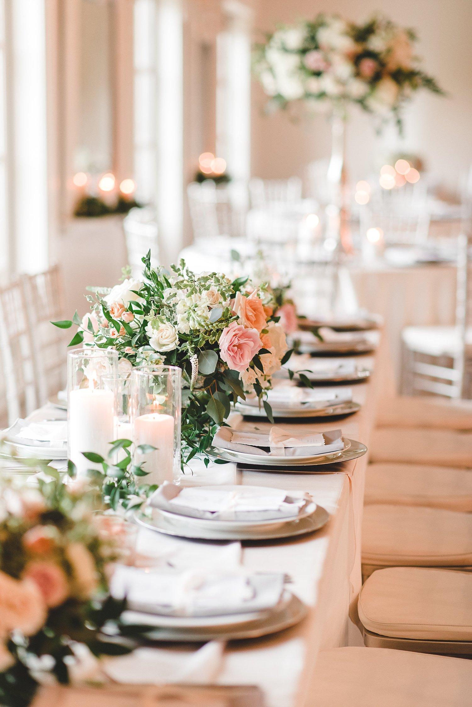 Wedding Reception at Bella Woods in Midlothian TX