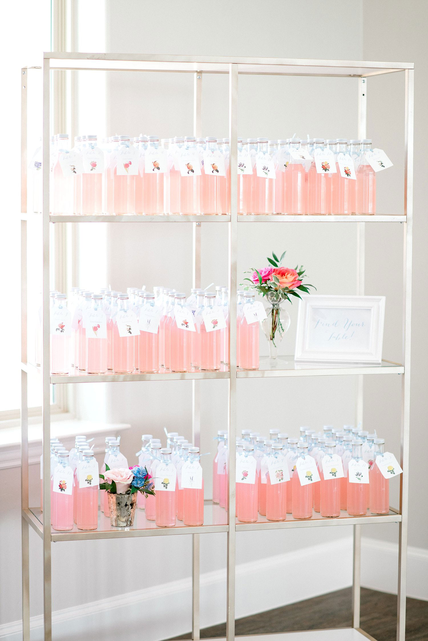 Pink lemonade seating chart