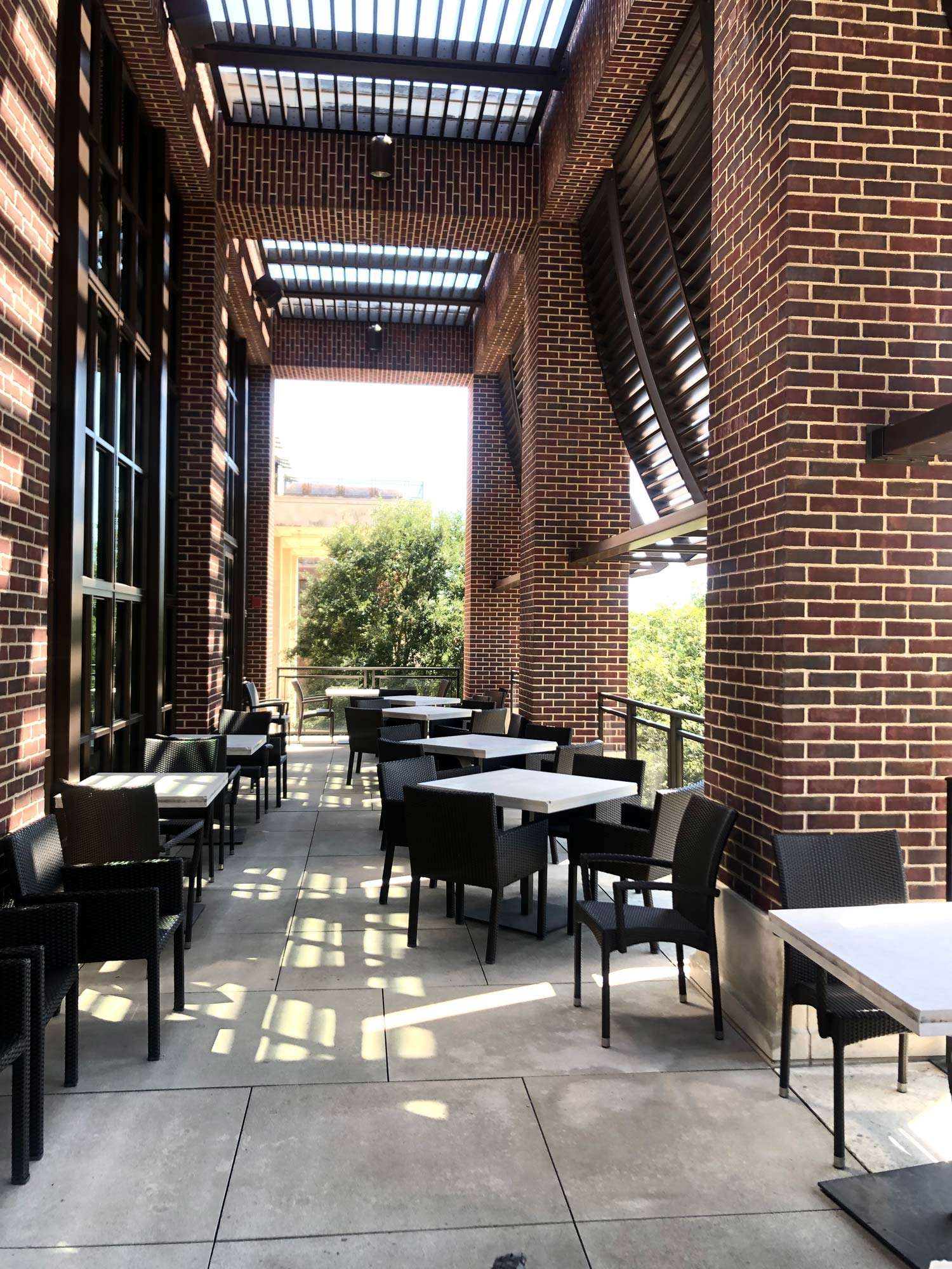 Cafe-43-patio-George W Bush Presidential Center.jpg