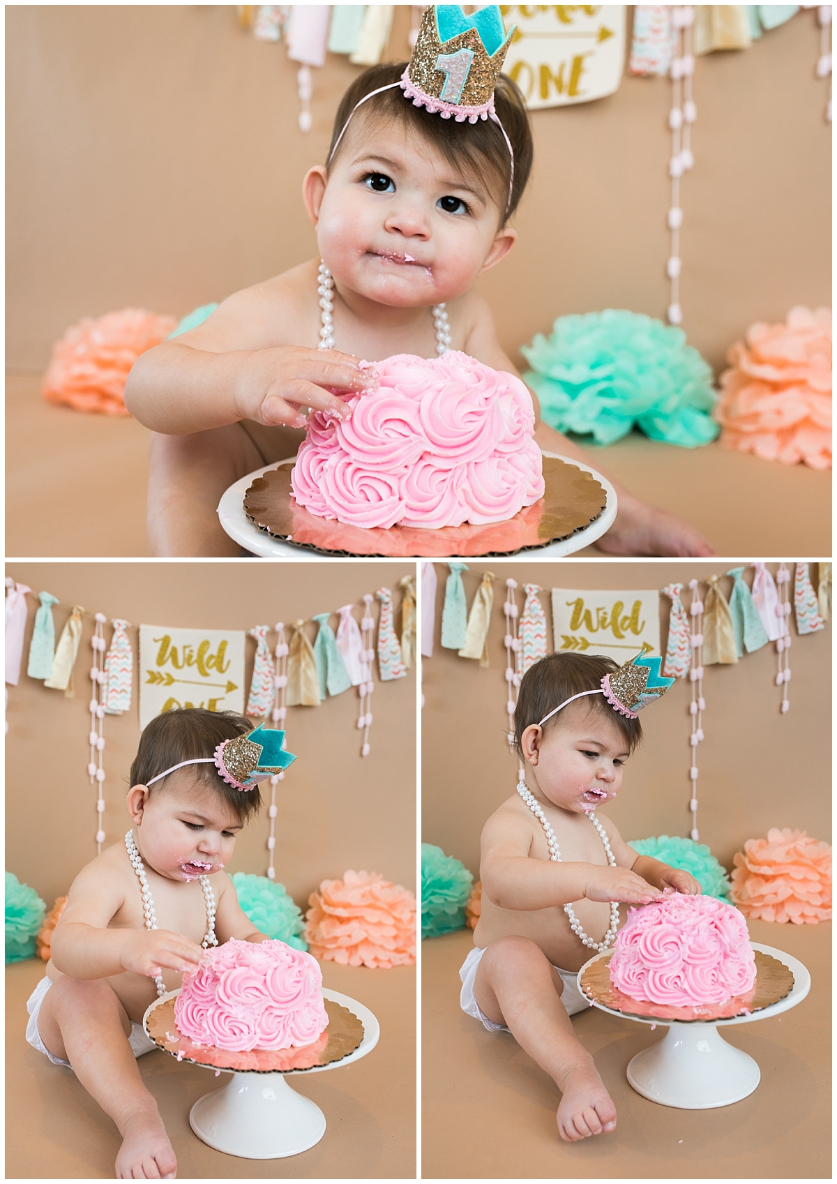 South Jersey Cake Smash Photographer, Medford Child photographer