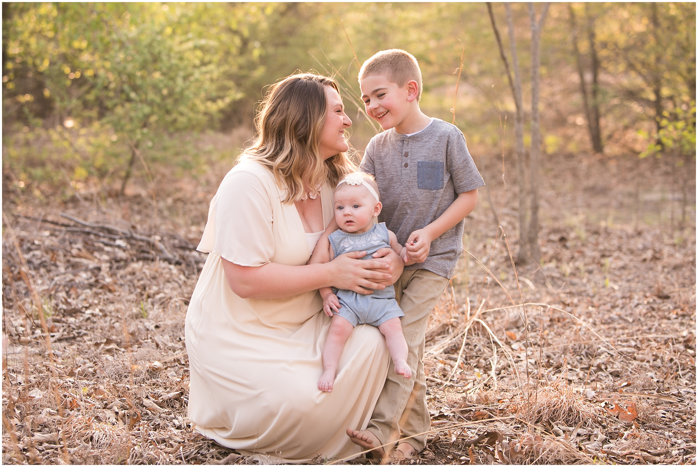 South Jersey Family Photographer - Boundary Creek Family Session