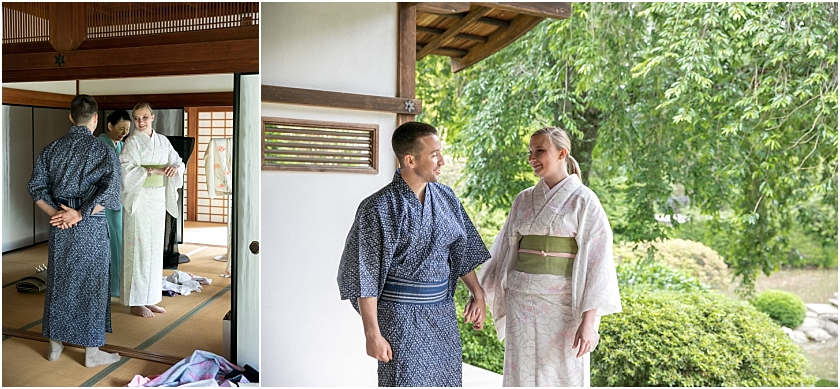 Shofuso Japanese House and Garden Philadelphia Engagement Session