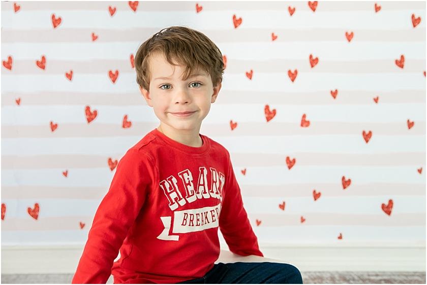 Valentine's Day Children Session - South Jersey Children's Photographer