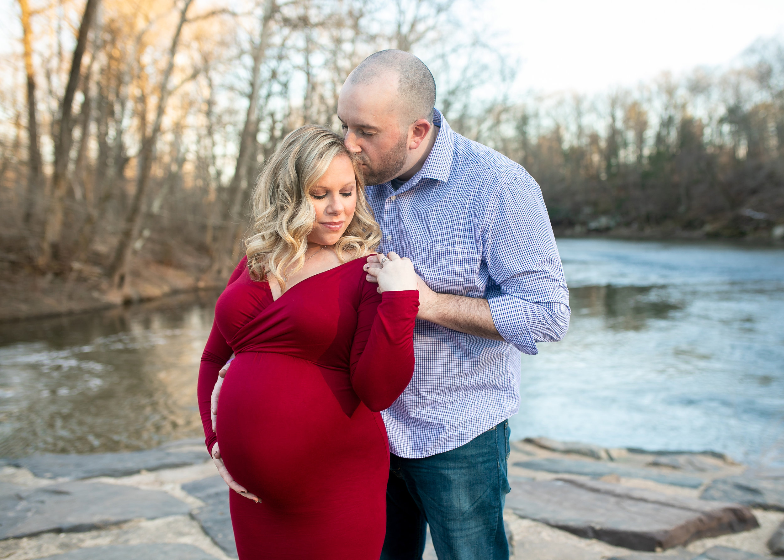 Kacie South Jersey Tyler State Park Maternity Session 004