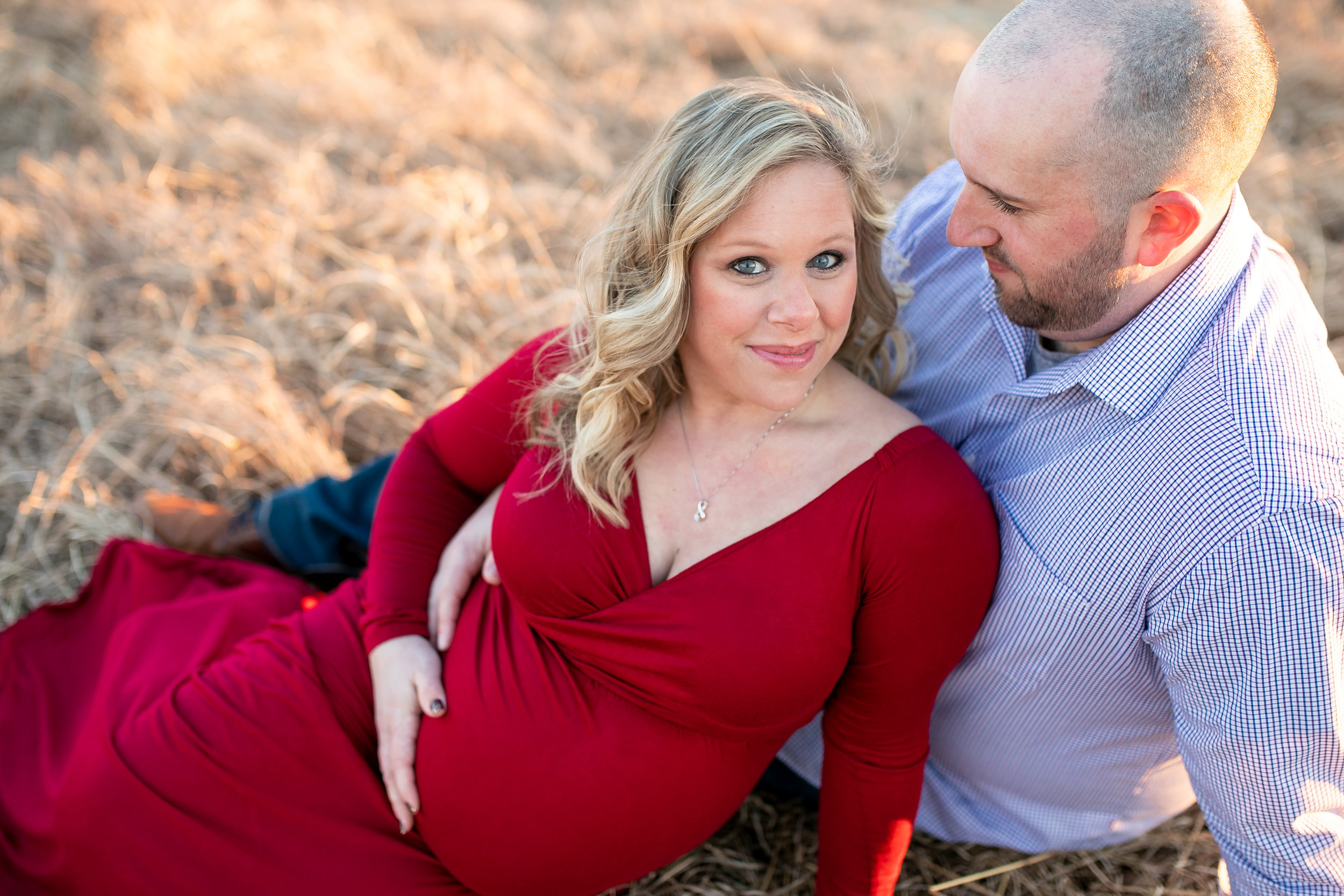 Kacie South Jersey Tyler State Park Maternity Session 022