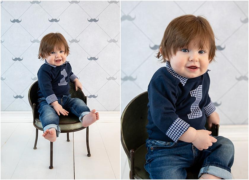 Little Man 1st Birthday and Cake Smash_South Jersey Children Photographer 1