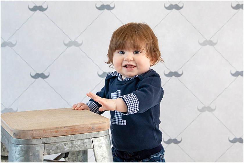 Little Man 1st Birthday and Cake Smash_South Jersey Children Photographer 7