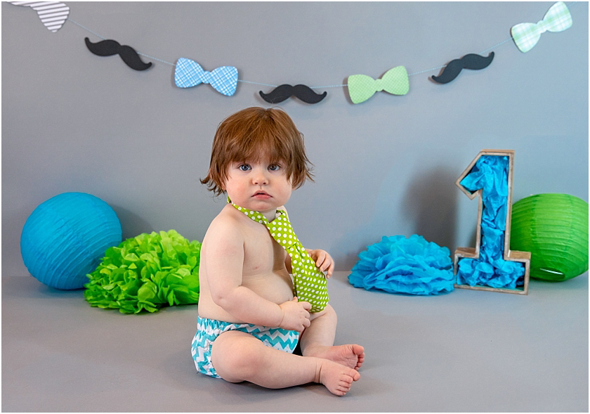 Little Man 1st Birthday and Cake Smash_South Jersey Children Photographer 11