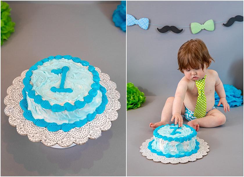 Little Man 1st Birthday and Cake Smash_South Jersey Children Photographer 10