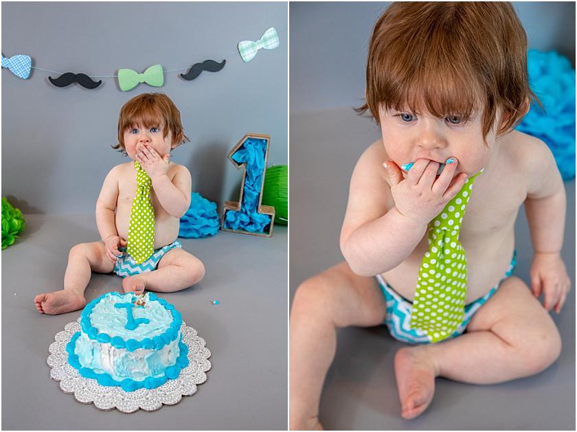 Little Man 1st Birthday and Cake Smash_South Jersey Children Photographer 13