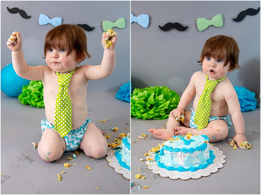 Little Man 1st Birthday and Cake Smash_South Jersey Children Photographer 22