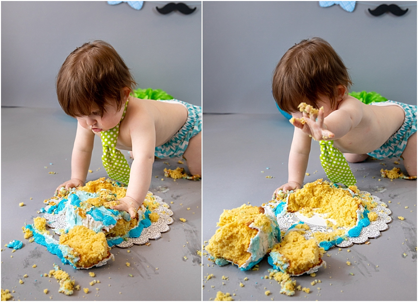 Little Man 1st Birthday and Cake Smash_South Jersey Children Photographer 24