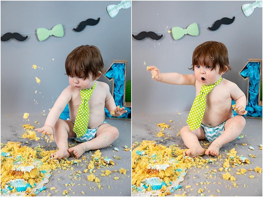 Little Man 1st Birthday and Cake Smash_South Jersey Children Photographer 27