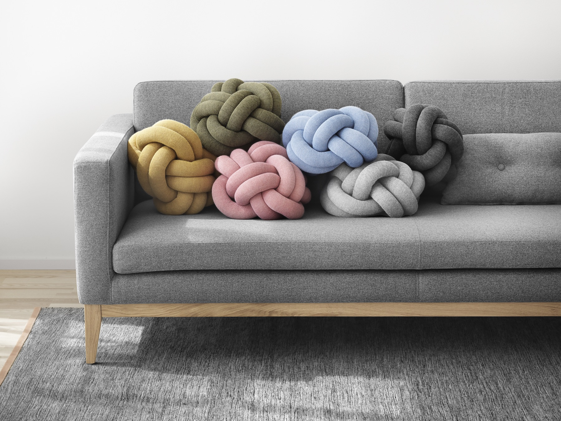 Knot Cushions by Design House Stockholm