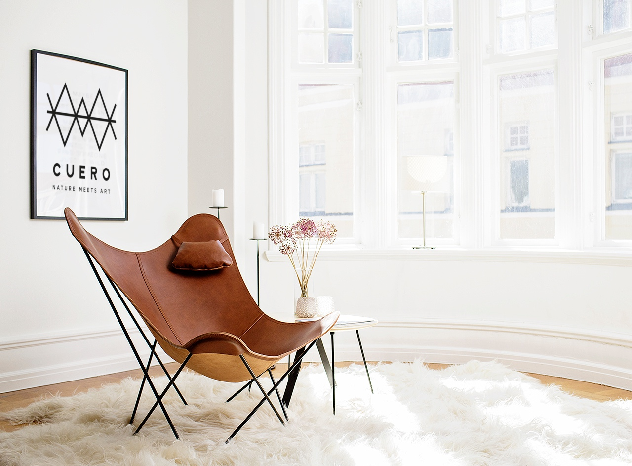 Butterfly chair by Cuero Design