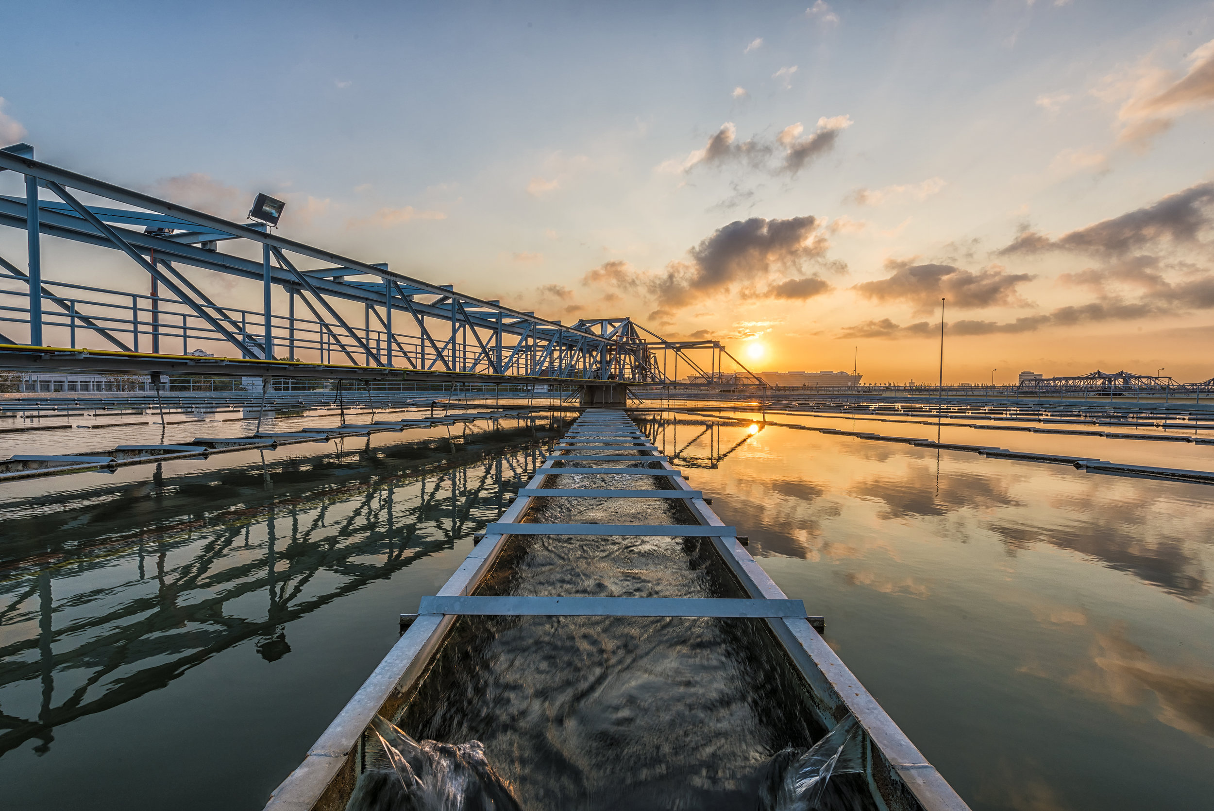 Environmental laboratory testing services for wastewater