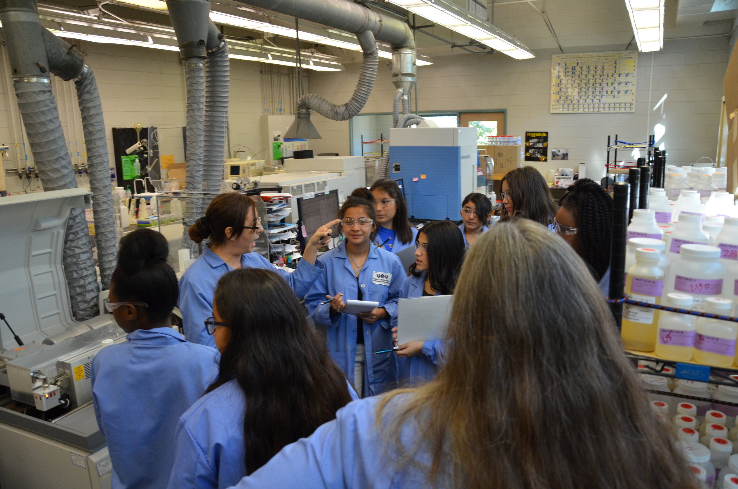 Babcock Labs is proud to support girls and women in STEM