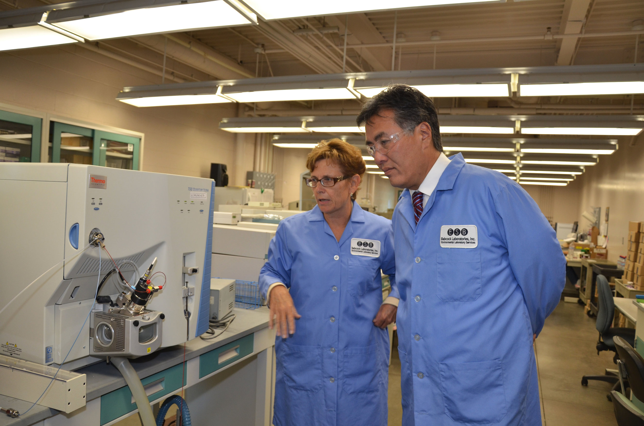 Babcock Labs is an advocate for supporting small business and has hosted Riverside representatives such as Congressman Mark Takano,Councilman Andy Melendrez, and Mayor Rusty Bailey