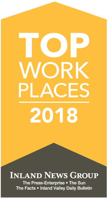 Babcock Labs is rated as a Top Workplace by the Inland News Group