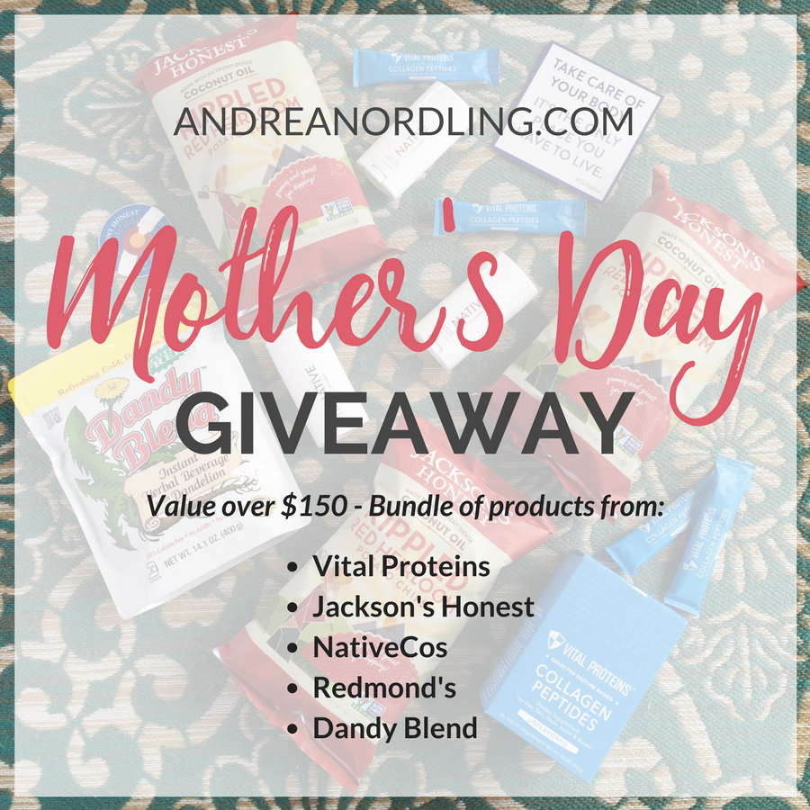 Mother's Day giveaway of my favorite products in one bundle!