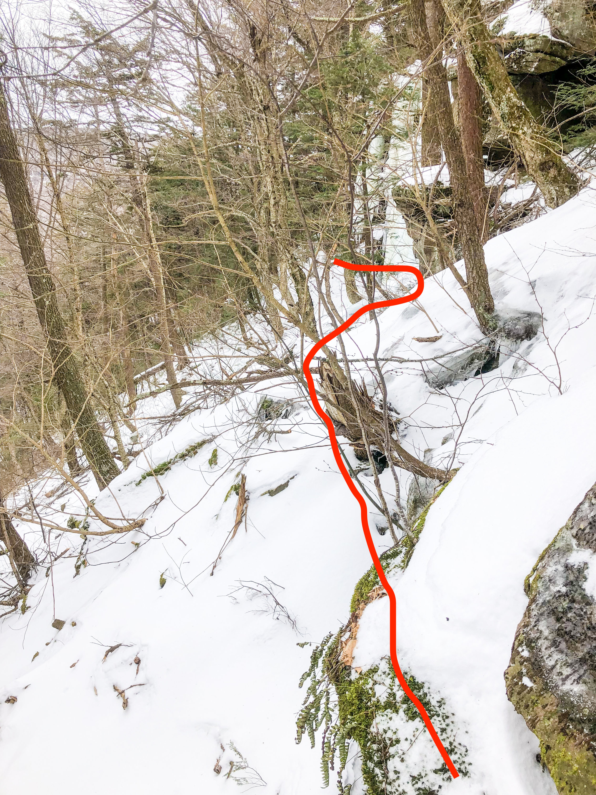 Route Guide Buttermilk Falls in the Catskills Ben Carlson BMF Kronos Furnace Industries DRY ICE Tools Descent.jpg