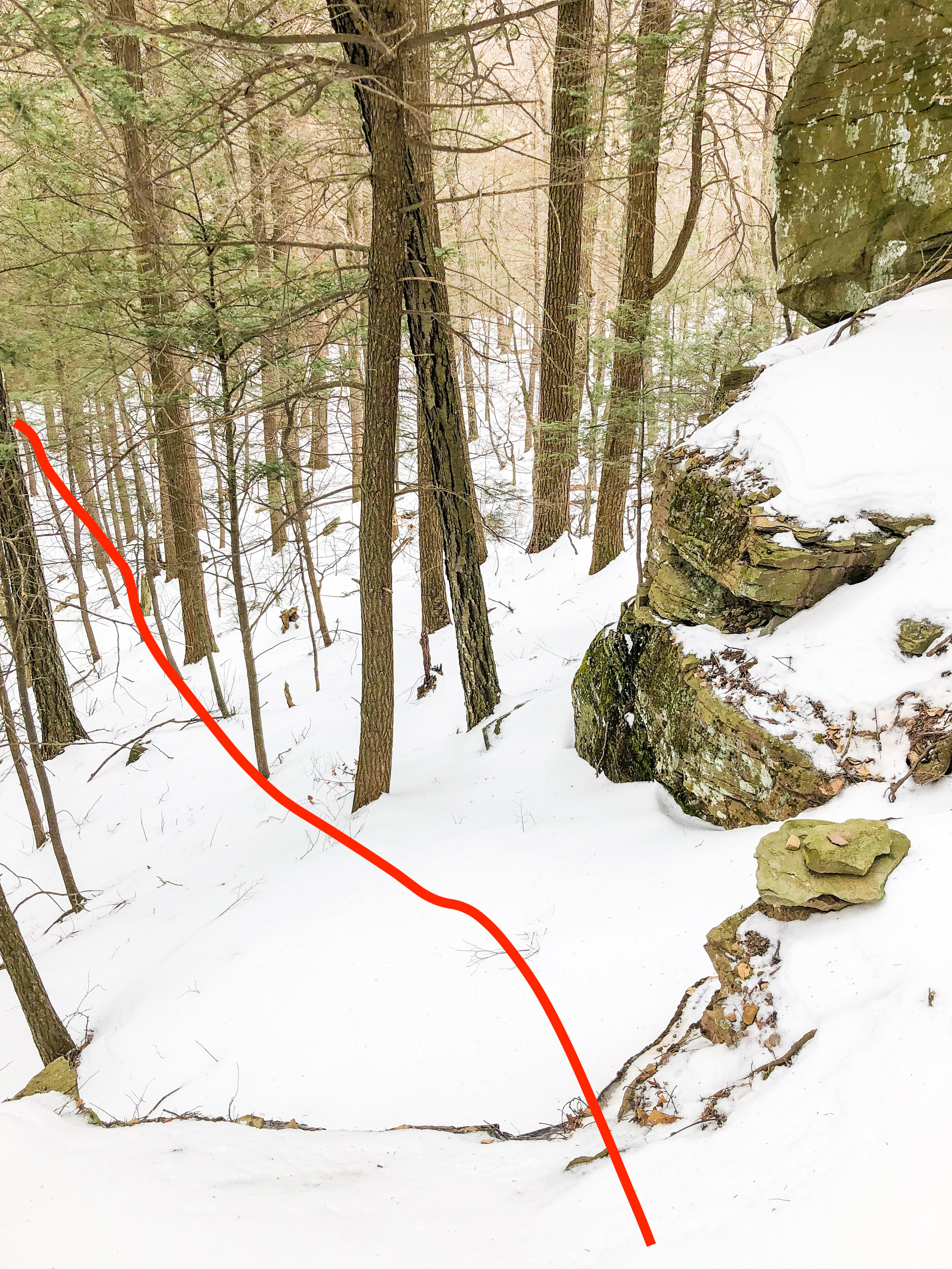 Route Guide Buttermilk Falls in the Catskills Ben Carlson BMF Kronos Furnace Industries DRY ICE Tools Descent 6.jpg
