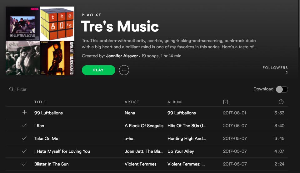 Listen to Tre's Music