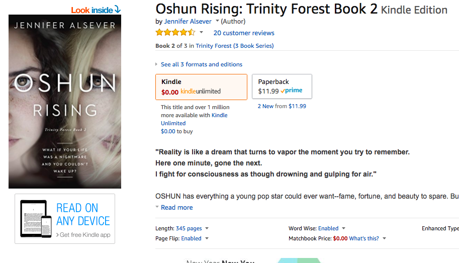 Write a review of Oshun Rising