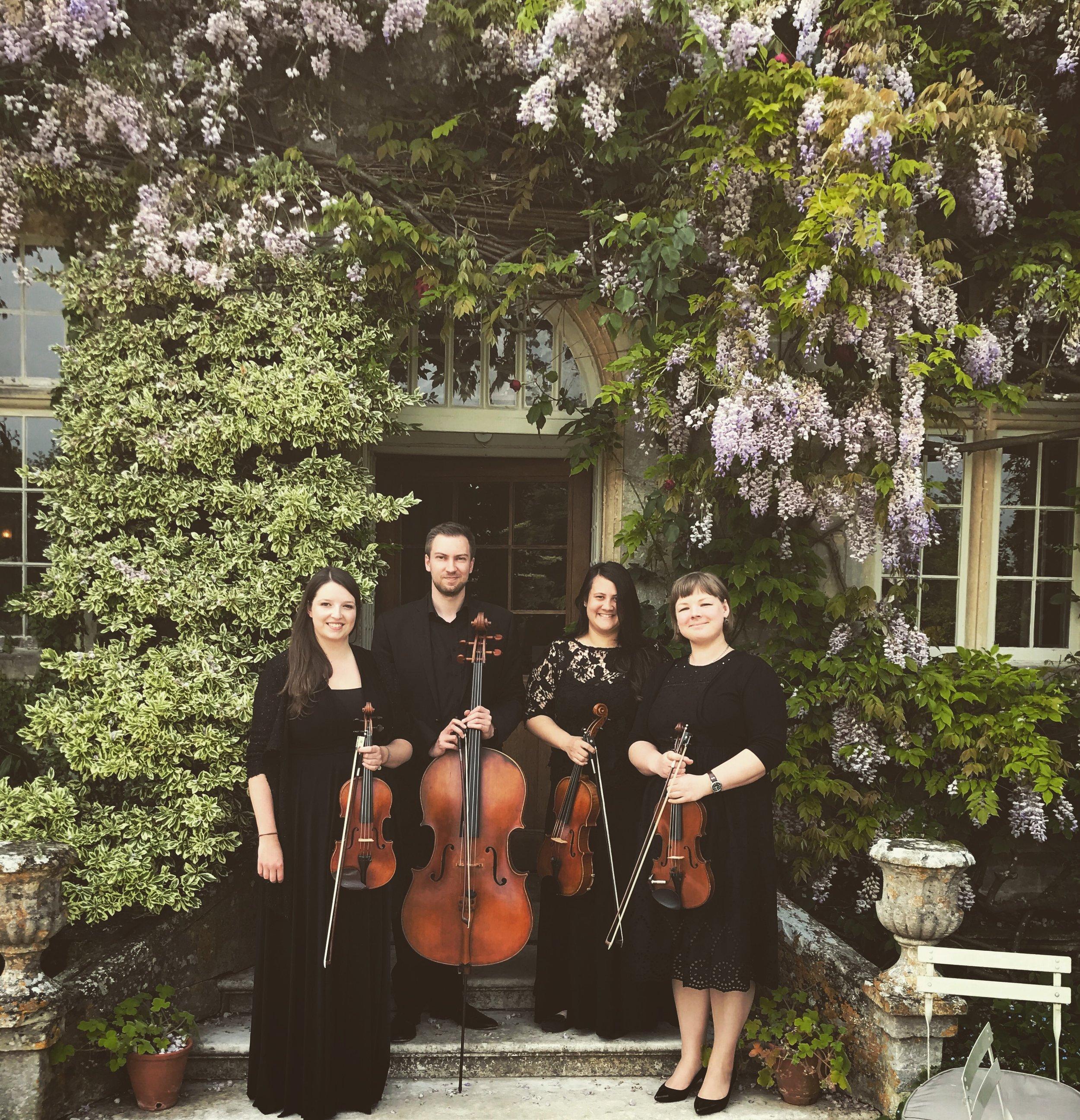 Vyne String Quartet Barnsley House.JPG