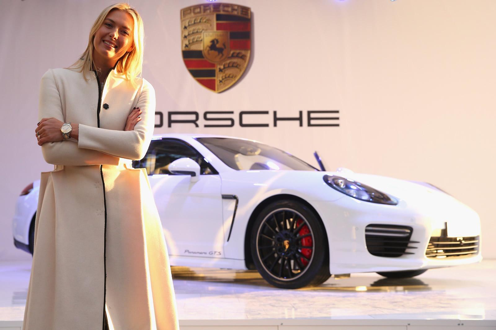 Maria Sharapova for Porsche